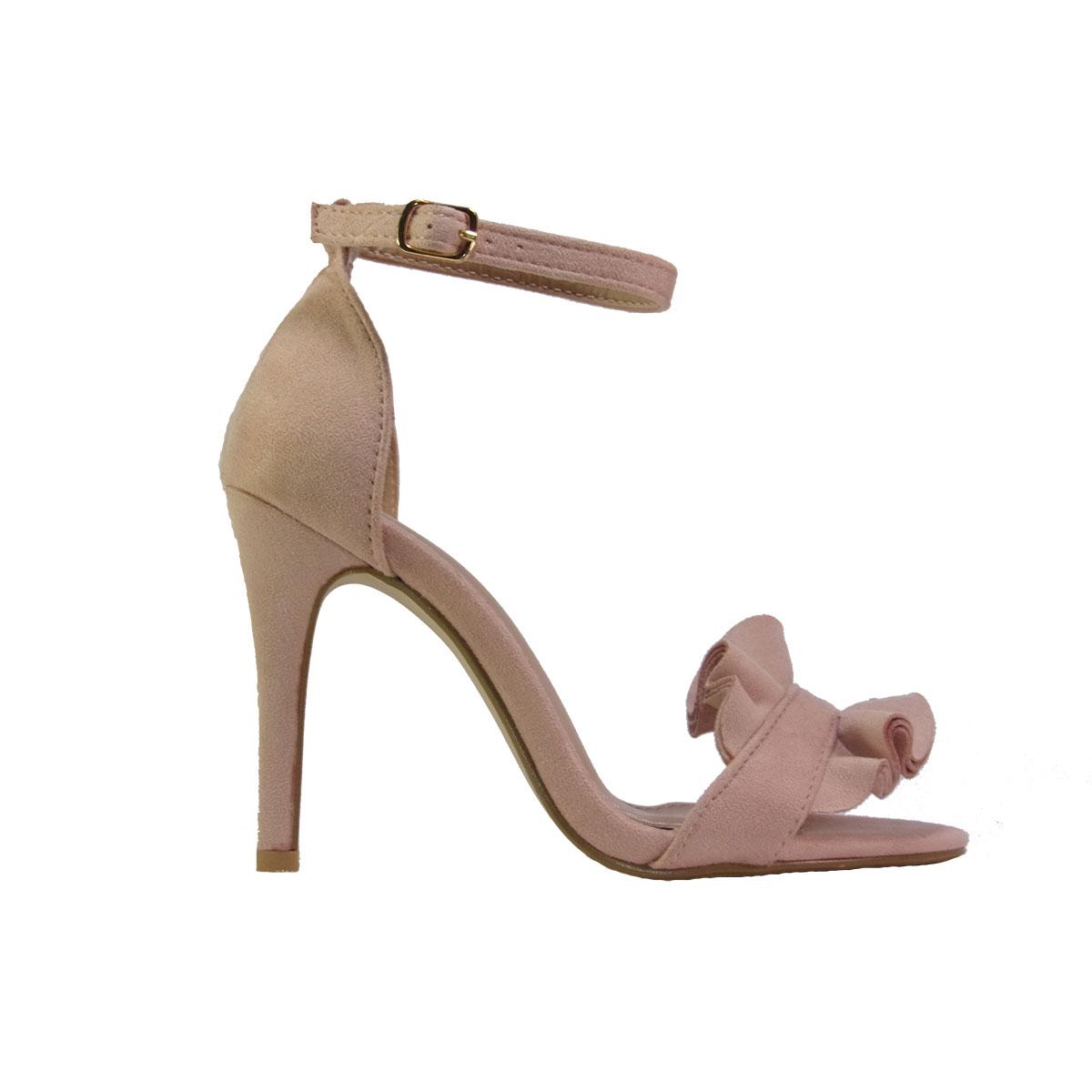 fb03a5ac40c8 ILoveMyShoes 005 Γυναικεία Πέδιλα Suede Ροζ – ILoveMyShoes