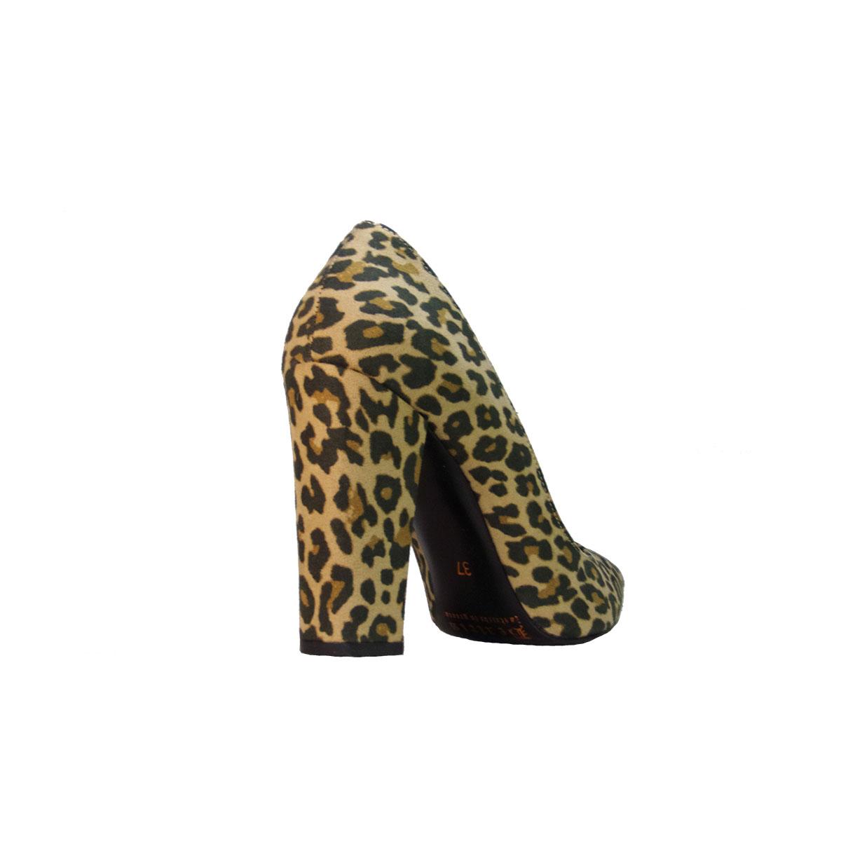 d035cc0820e Beatris EL-940 Γυναικεία Γόβα Χοντρό Τακούνι Λεοπάρ – ILoveMyShoes