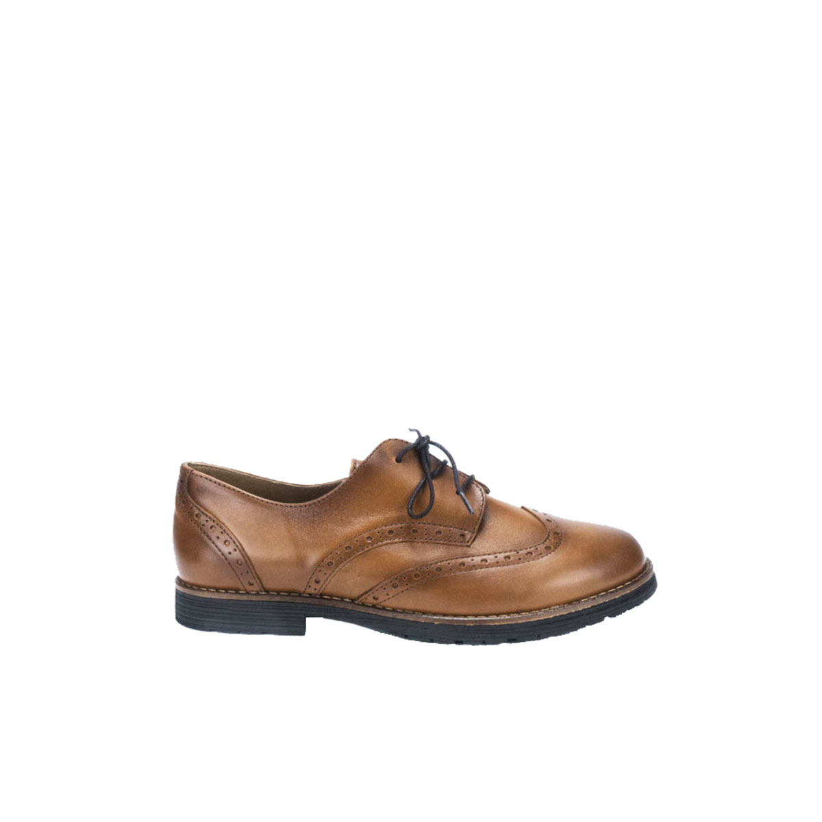 ea29b9ea2da RAGAZZA 0183 Γυναικείο Παπούτσι Δετό Oxford Δέρμα Ταμπά